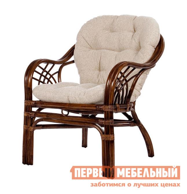 Кресло из натурального ротанга Мебель Импэкс Кресло Roma с подушкой