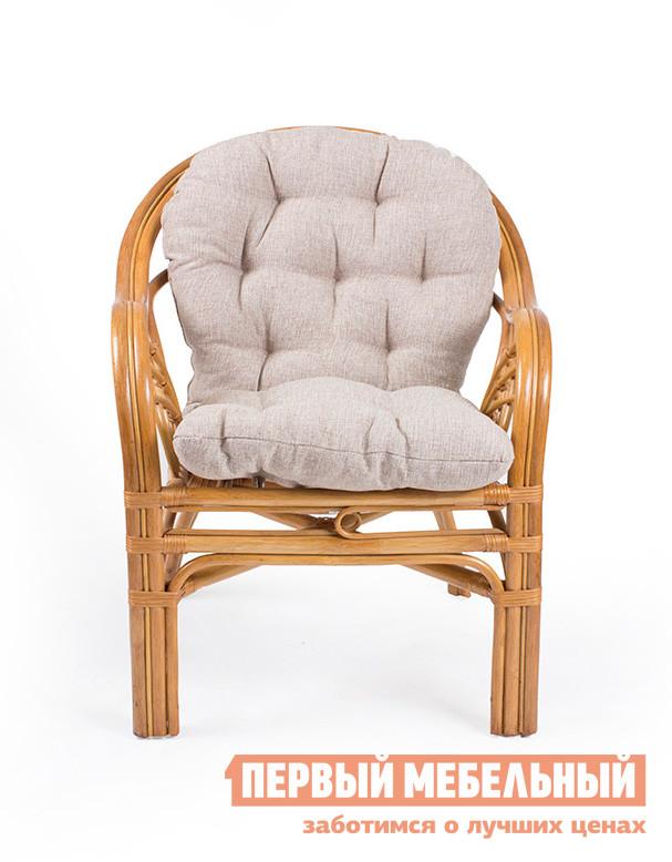 Плетеное кресло Мебель Импэкс Кресло Roma с подушкой Золотой мед