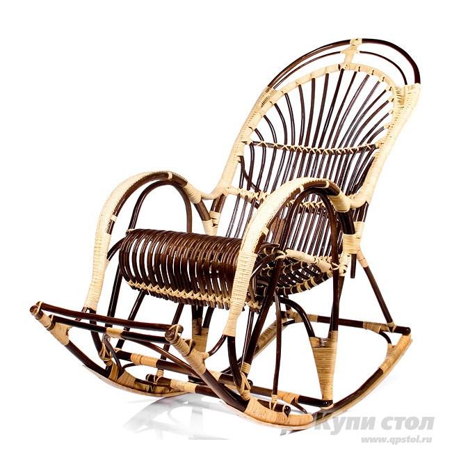 Кресло-качалка Кресло-качалка Русская Лоза КупиСтол.Ru 14310.000