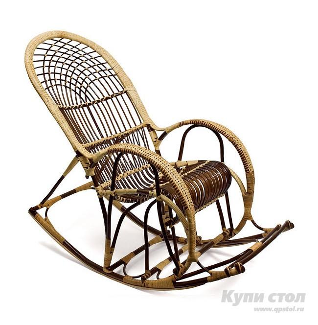 Кресло-качалка Кресло-качалка Русская Лоза КупиСтол.Ru 13840.000