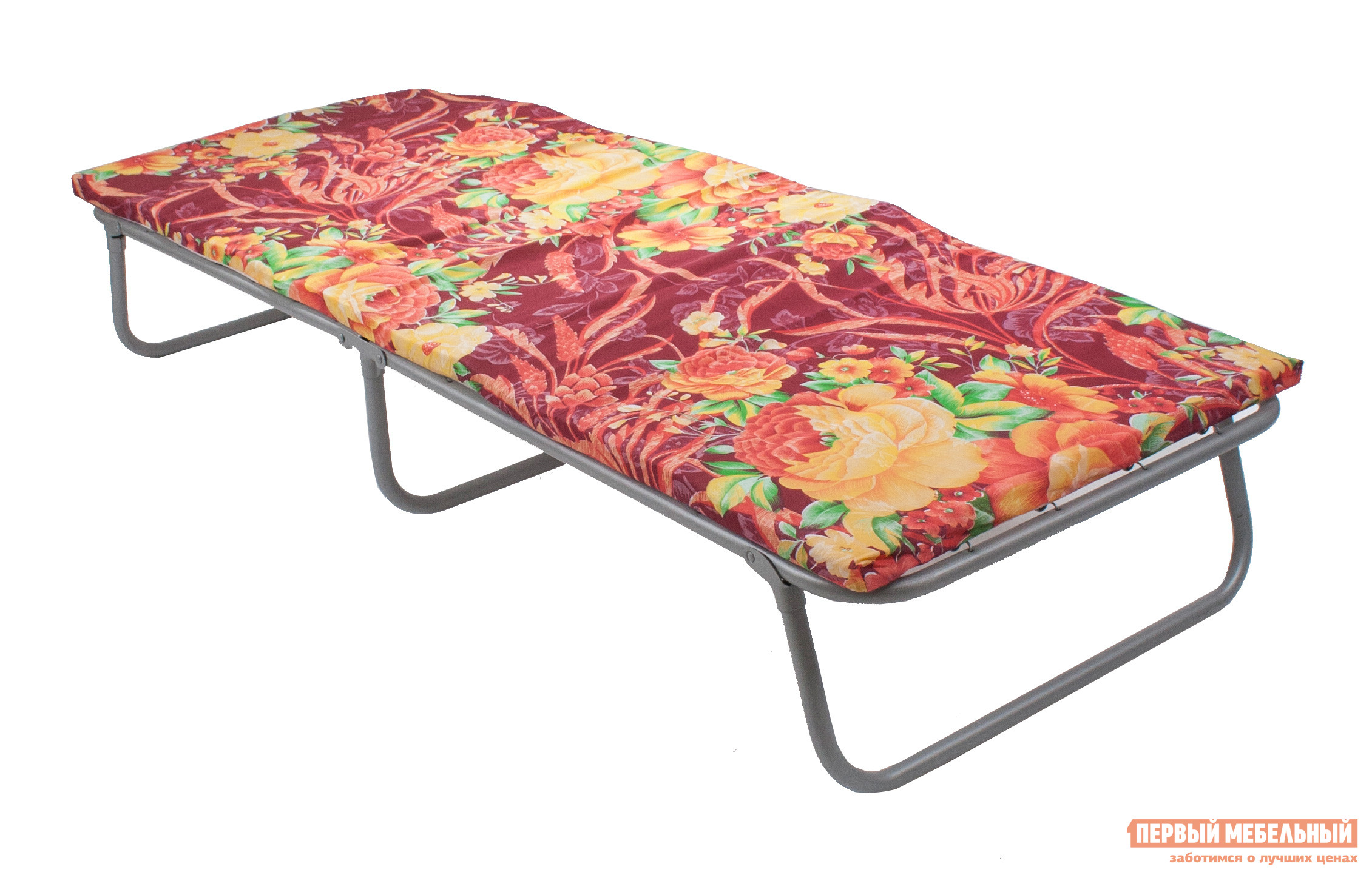Раскладушка Мебель Импэкс Прасковья В ассортиментеРаскладушки<br>Габаритные размеры ВхШхГ 295x700x1800 мм. Раскладушка Прасковья — для дачи в Подмосковье!  Мягкая компактная раскладная кровать всегда обеспечит спальное место для гостя, а летом на загородном участке на ней будет удобно подремать в теньке или понежиться на солнышке. В сложенном состояние раскладушка имеет размеры — 900 x 700 x 115 мм, она не займет много места и ее легко хранить в кладовке или под кроватью. Раскладушка очень легкая — всего 8. 7 кг.  Максимальная нагрузка — до 150 кг. Каркас  выполнен из стальной трубы диаметром 25 мм.  Основание — прочная стальная сетка-змейка.  Комфортный матрац из бязи с набивкой из холлкона имеет толщину 35 мм. Обратите внимание! Расцветка матраса может отличаться от изображения.<br><br>Цвет: В ассортименте<br>Высота мм: 295<br>Ширина мм: 700<br>Глубина мм: 1800<br>Кол-во упаковок: 1<br>Форма поставки: В собранном виде<br>Срок гарантии: 12 месяцев<br>Тип: До 80 кг<br>Тип: До 100 кг<br>Тип: До 120 кг<br>Тип: До 150 кг<br>Тип: С матрасом<br>Тип: До 90 кг<br>Тип: До 70 кг<br>Тип: До 60 кг<br>Материал: Металл<br>Материал: Ткань<br>На пружинах: Да