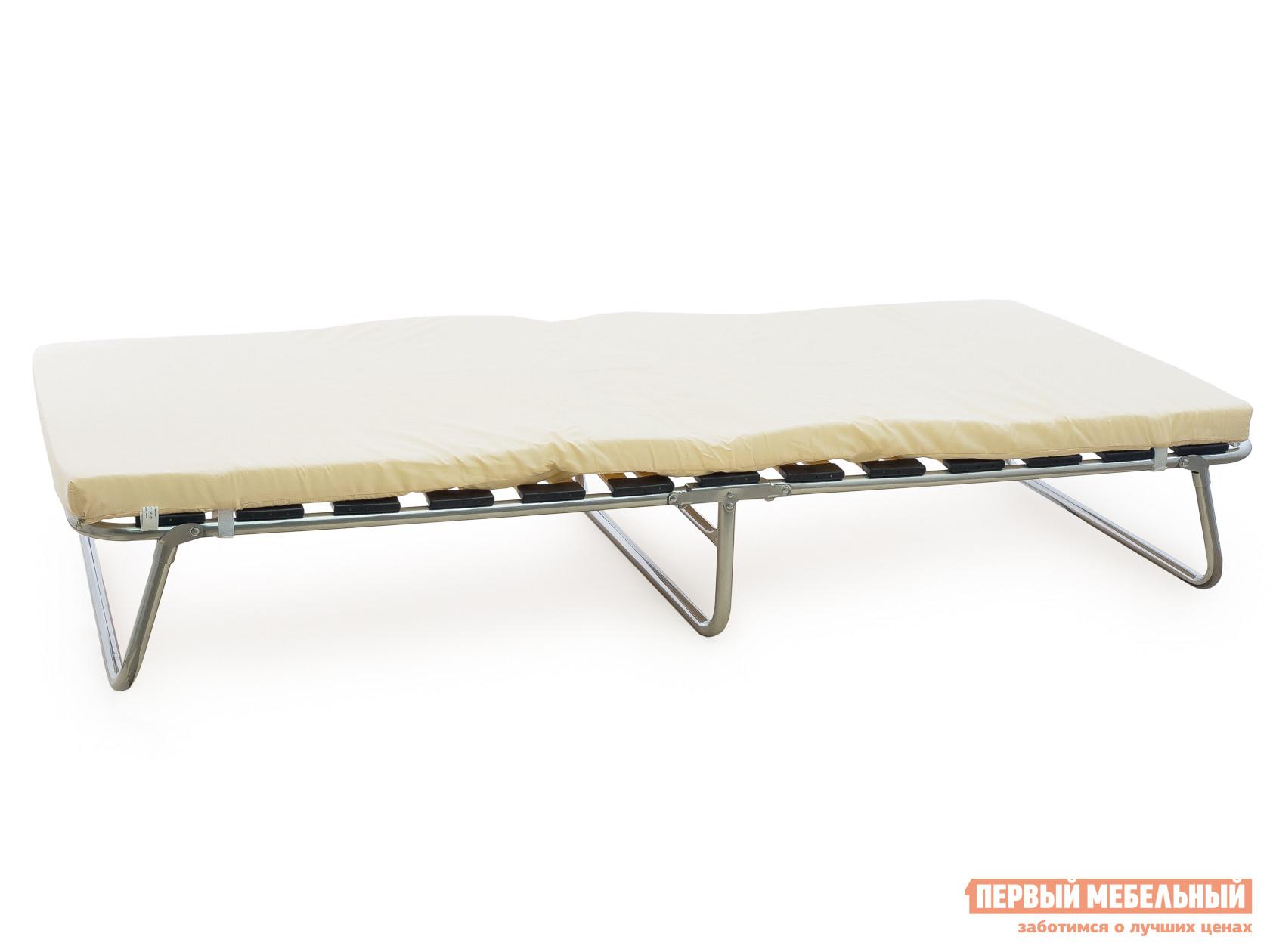 Раскладушка с матрасом Мебель Импэкс Кровать раскладная «Анжелика» раскладушка ярославль мебель стандарт м