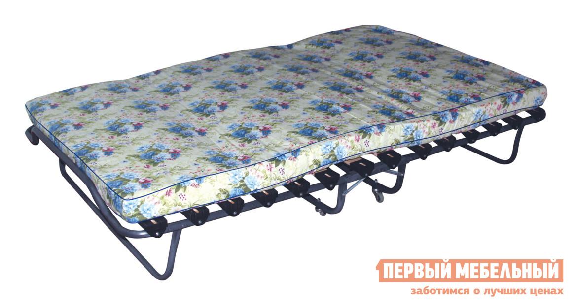 Деревянная раскладушка на ламелях Мебель Импэкс Кровать раскладная Симона с матрасом кровать раскладная мебель импэкс симона