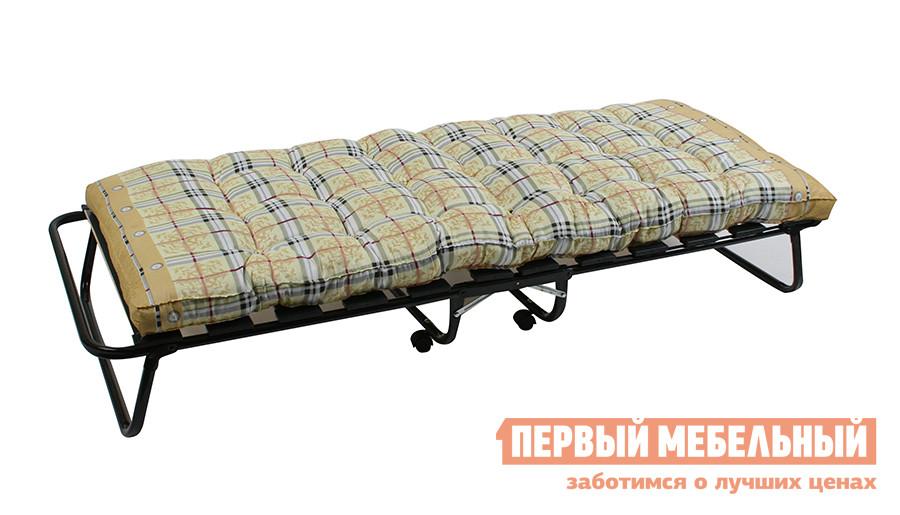 Ортопедическая раскладушка с матрасом Мебель Импэкс Модель-204 -LeSet раскладушка ярославль мебель стандарт м