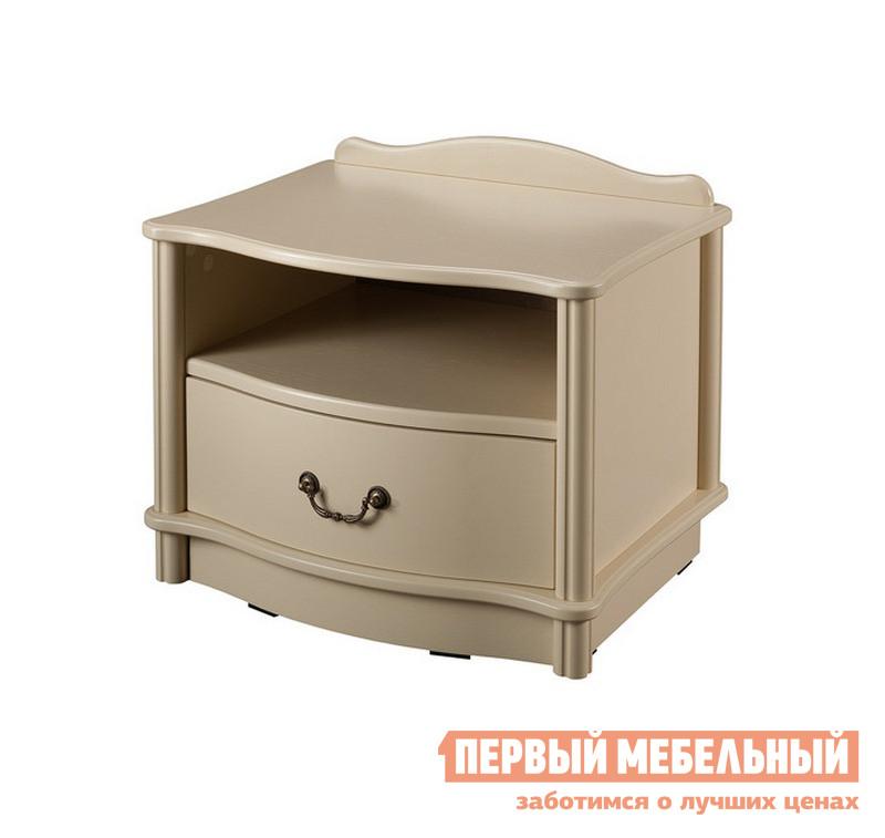 Прикроватная тумбочка Мебель Импэкс Джульетта (1 ящ.+ниша) / (1 ящ.+ниша +цоколь)