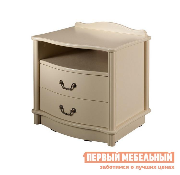Прикроватная тумбочка Мебель Импэкс Джульетта (2 ящ.+ниша) / (2 ящ.+ниша+цоколь)