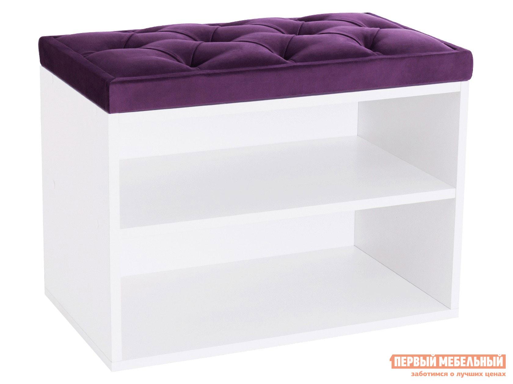 Обувница  Обувница HD mini 600 Bella 14 Фиолетовый, Белый