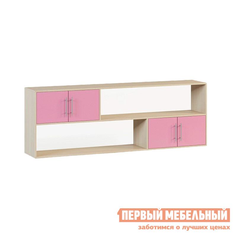 Полка детская  Милана 1.12 Дуб / Розовый