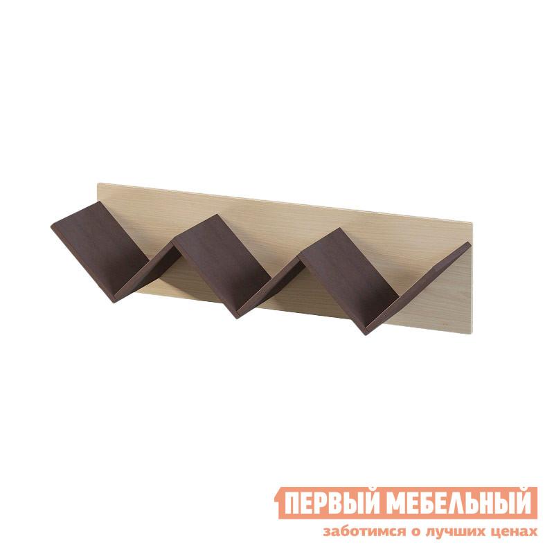 Полка детская Мелания Милана 1.13 детская кровать чердак с рабочей зоной и шкафом мелания милана 3 дуб