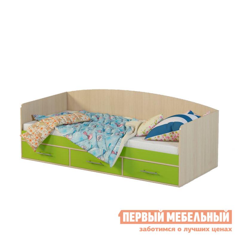 Детская кровать Мелания Милана 12 детская кровать чердак с рабочей зоной и шкафом мелания милана 3 дуб