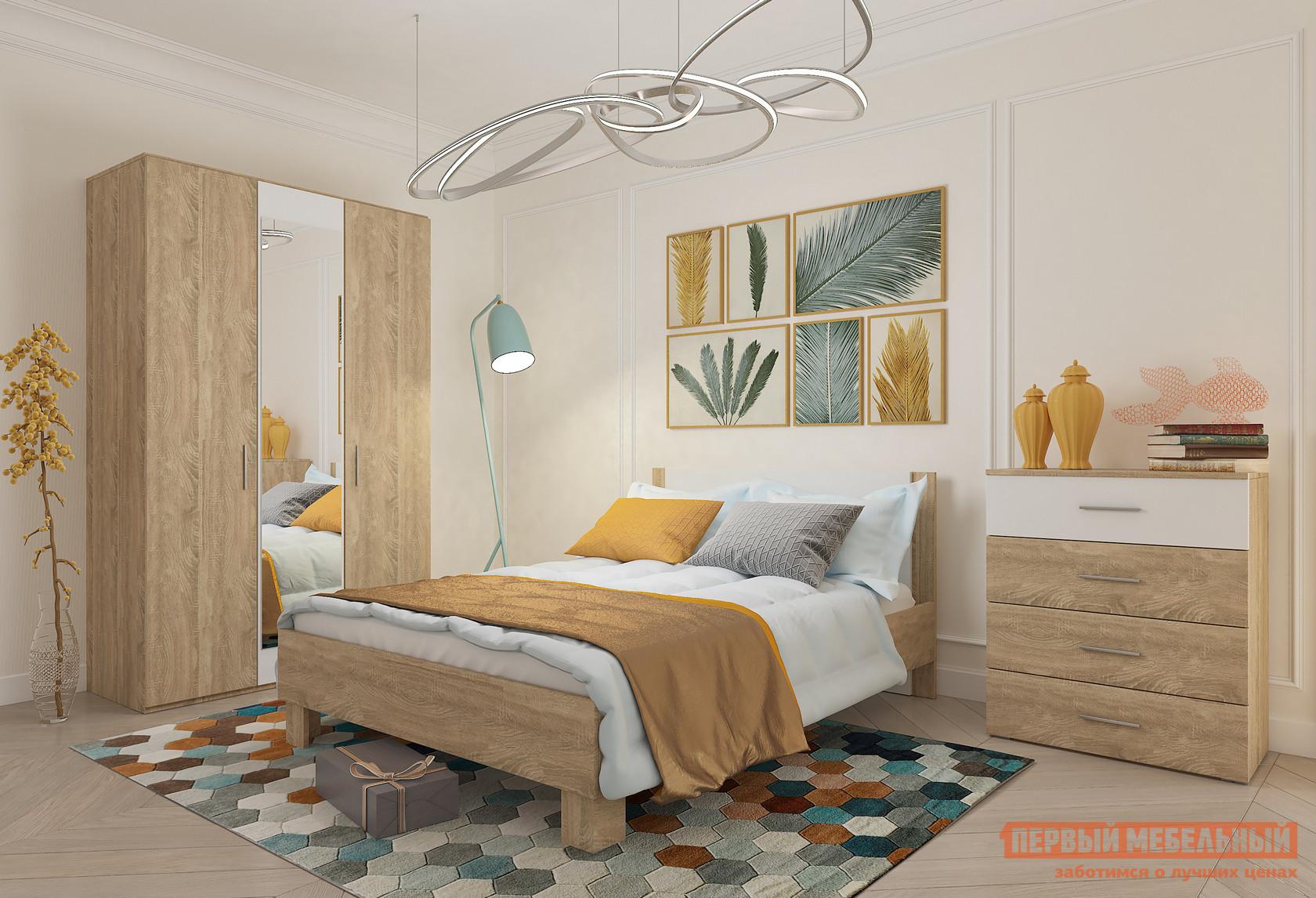 Спальный гарнитур Милана Монморанси К2 спальный гарнитур трия лючия к2