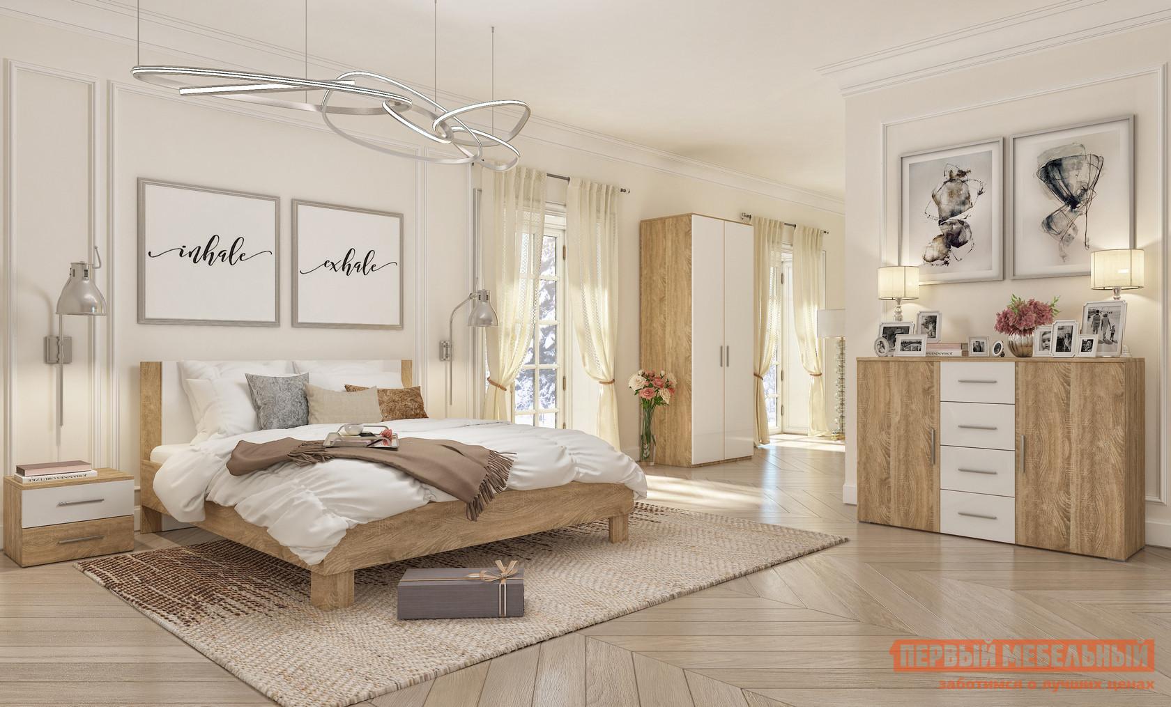 Спальный гарнитур Милана Монморанси К1 спальный гарнитур нк мебель марика к1