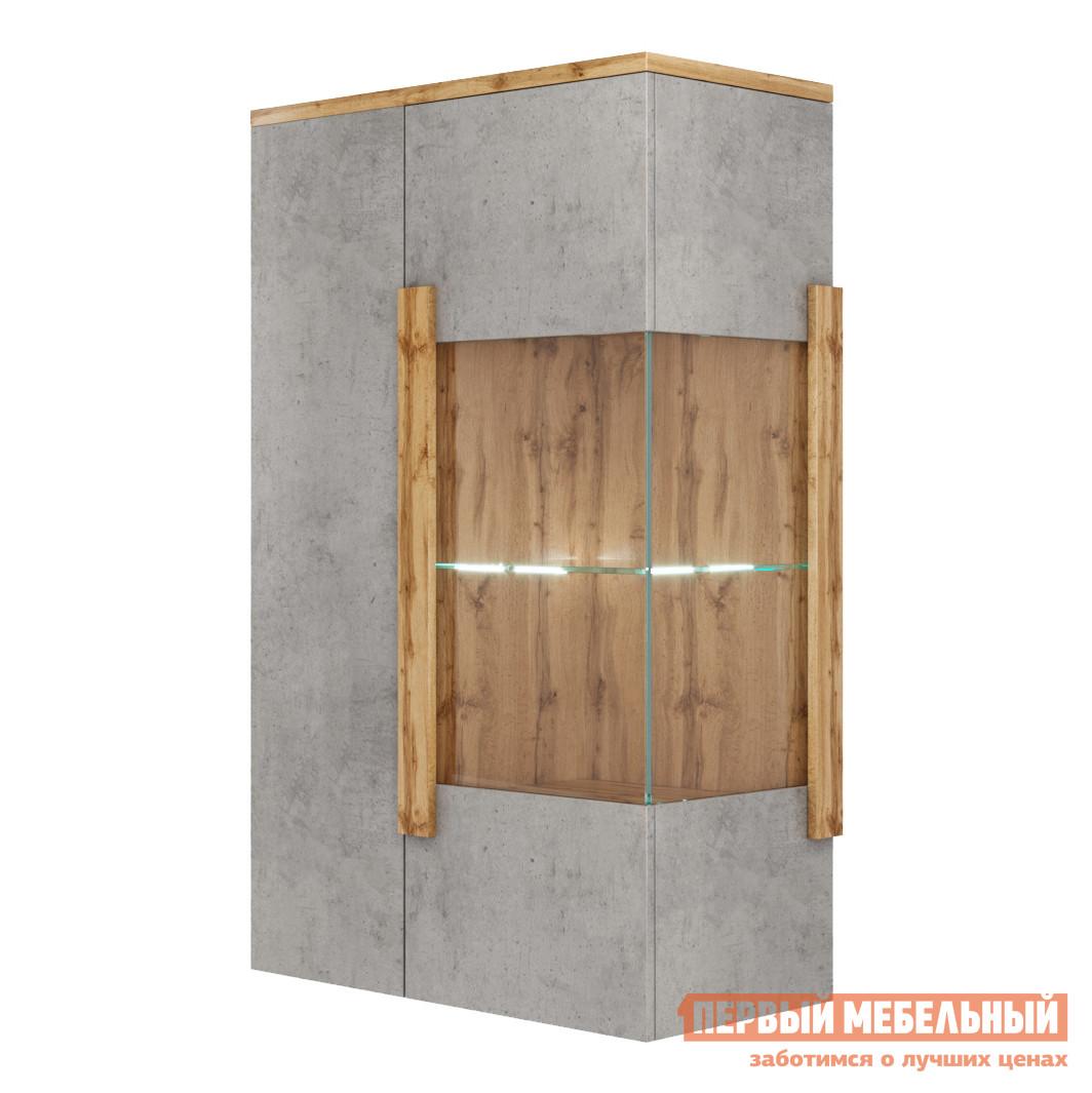 Шкаф-витрина Мелания Витрина навесная 2002М1