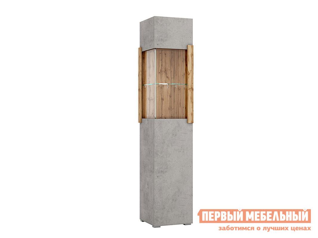 Фото - Шкаф-витрина Первый Мебельный Витрина 1 дверная (левая/правая) 2007М1/2017М1 витрина шкаф витрина 4 х дверная куба куба