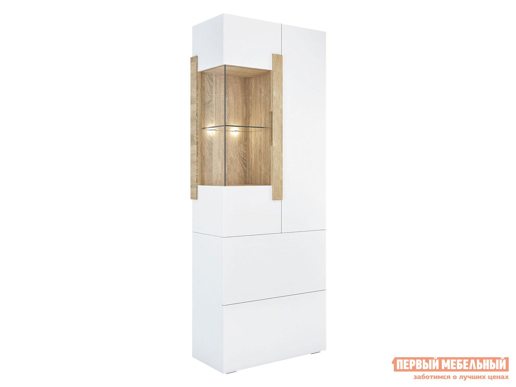 Шкаф-витрина Первый Мебельный 1704.М3/1714.М3