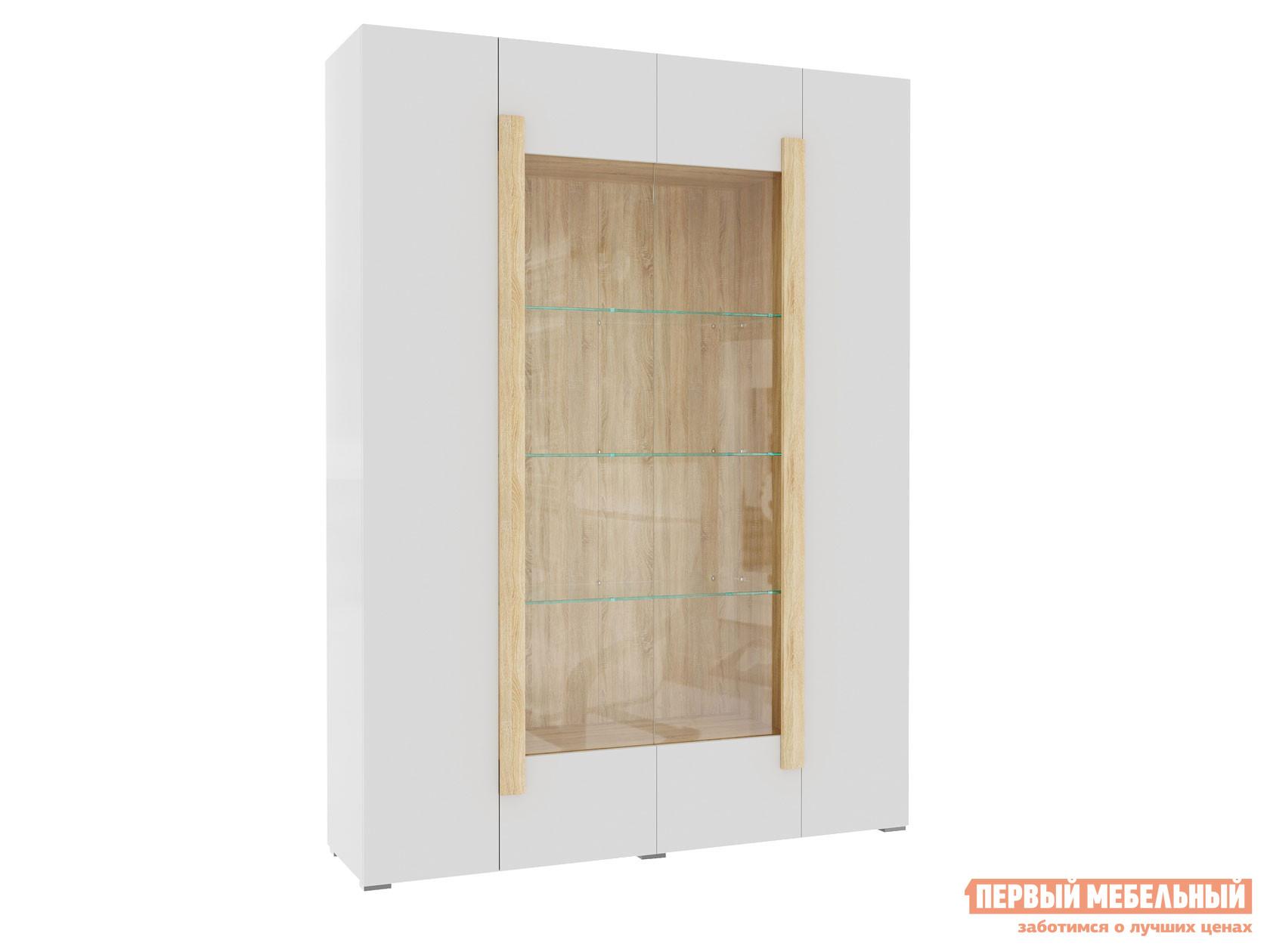 Фото - Шкаф-витрина Первый Мебельный Куба Витрина 4-х дверная 1715.М3 витрина шкаф витрина 4 х дверная куба куба