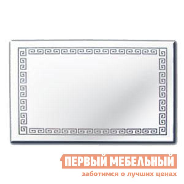 Настенное зеркало Зеркальные грани 0500 (800*500) с креп. (к2)  Зеркало серебряное
