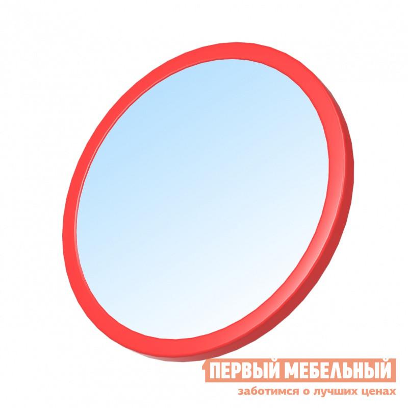 Настенное зеркало Зеркальные грани ИЗ-1 Красный