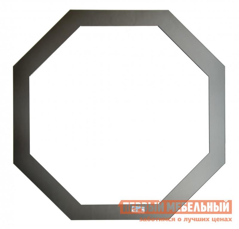Настенное зеркало Зеркальные грани 0451 (600*600) с креп. (к2) Зеркало серебряное / Зеркало тонированое