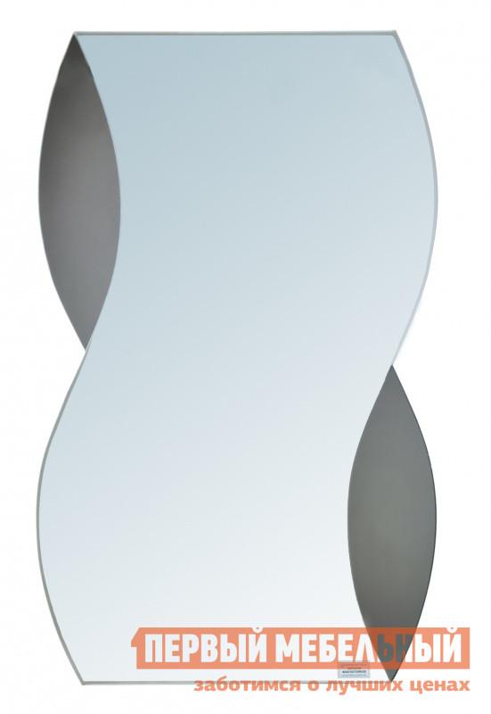 Настенное зеркало Зеркальные грани 43 (500*800)  Зеркало серебряное / Зеркало тонированое