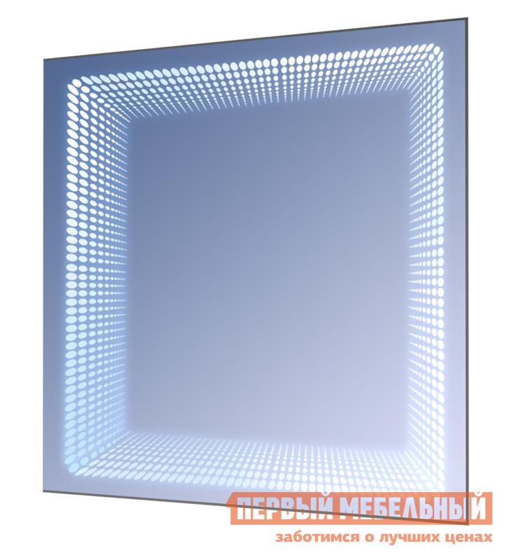 Настенное зеркало Зеркальные грани БКВ Зеркало серебряное, 700 мм