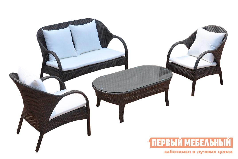 где купить Комплект плетеной мебели Kvimol KM-0040 по лучшей цене