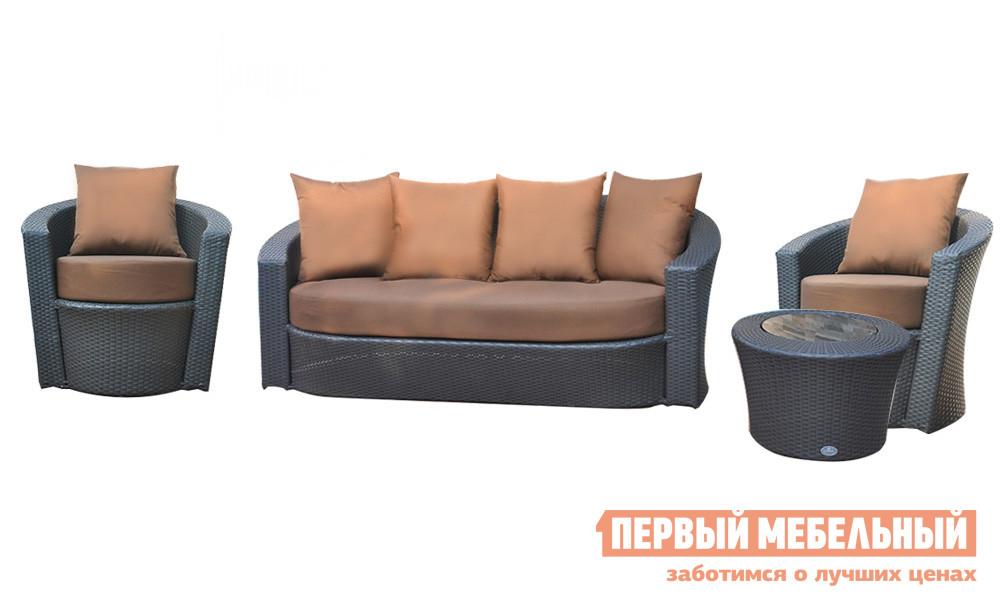 Комплект плетеной мебели Kvimol KM-0061 цены онлайн
