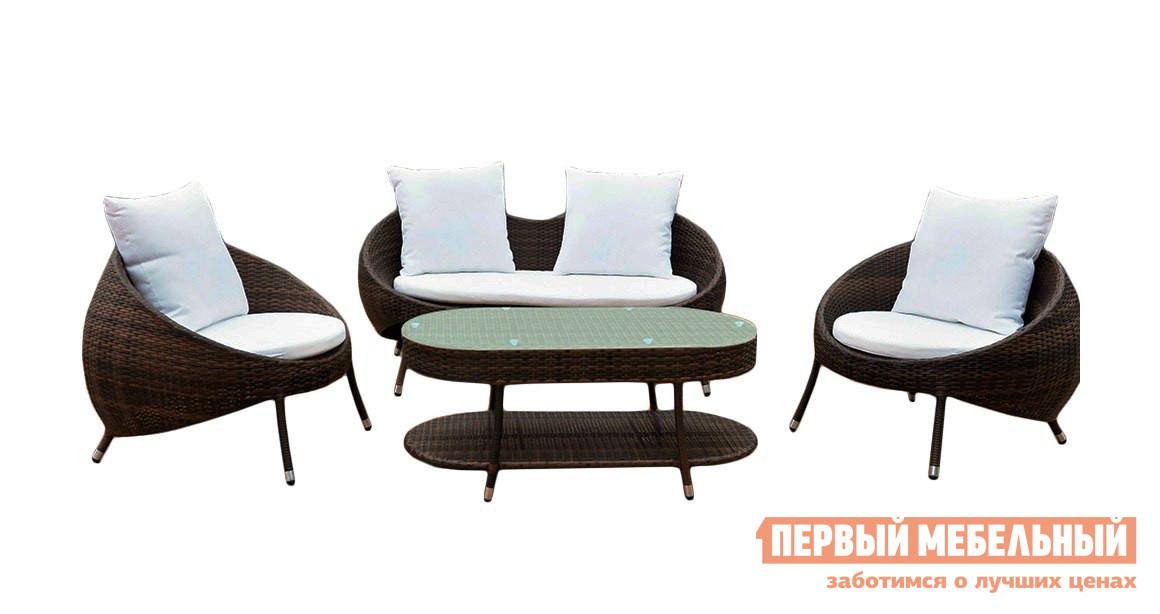 Комплект плетеной мебели Kvimol KM-0042 комплект плетеной мебели kvimol km 0040