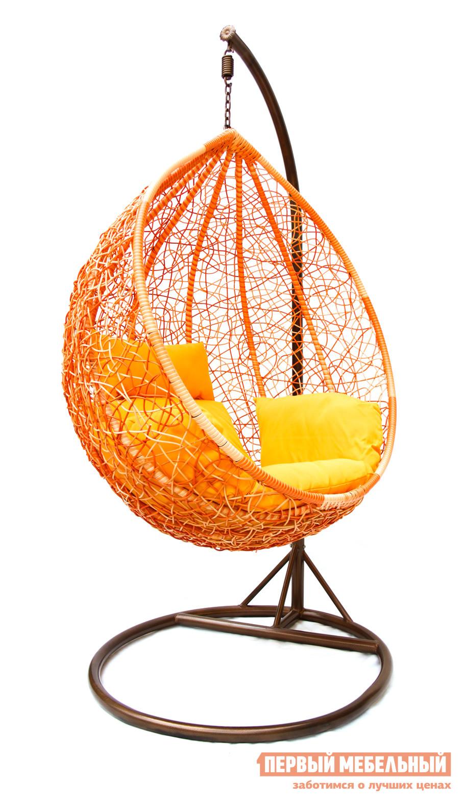 Подвесное кресло Kvimol KM-0001 (рыжий) цены онлайн