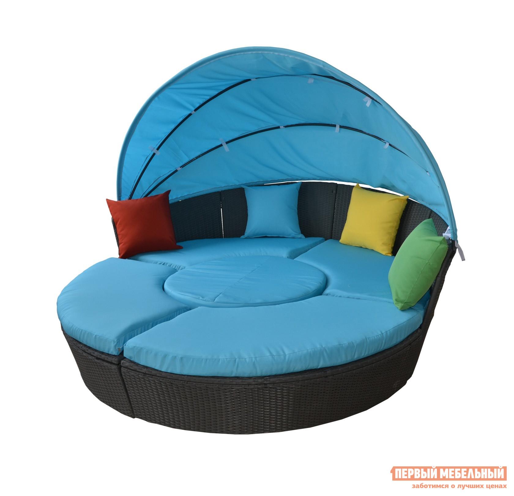 Плетеный диван-трансформер Kvimol KM-0319