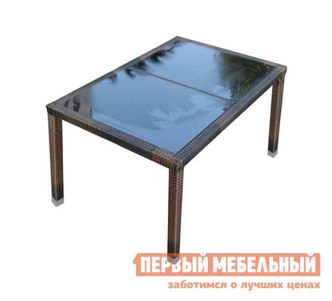 Плетеный стол Kvimol КМ-0302 плетеное кресло ротанговое kvimol км 0317