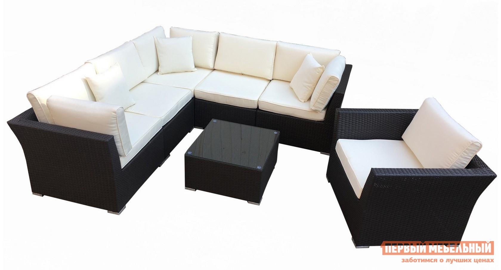 Комплект плетеной мебели Kvimol КМ-0064 плетеное кресло ротанговое kvimol км 0317