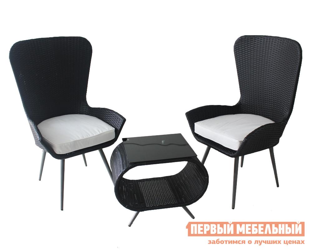Комплект плетеной мебели Kvimol КМ-0203 плетеное кресло ротанговое kvimol км 0317