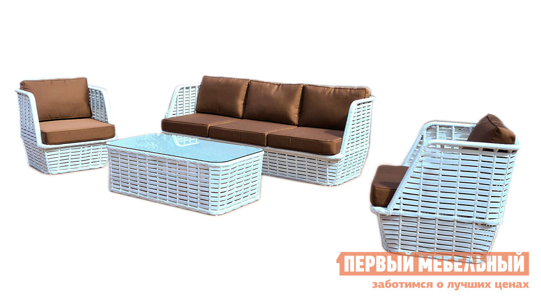 Комплект плетеной мебели Kvimol KM0046 комплект плетеной мебели kvimol km 0040