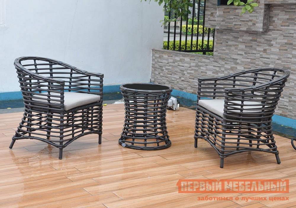 Комплект садовой мебели Kvimol КМ0026 Коричневый иск. ротанг от Купистол