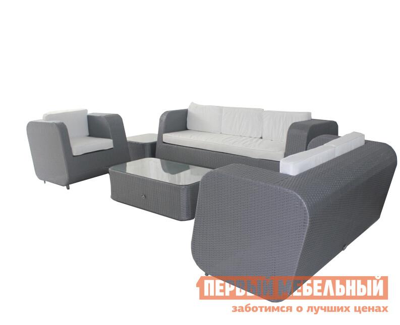 Комплект плетеной мебели Kvimol КМ-0201 плетеное кресло ротанговое kvimol км 0317