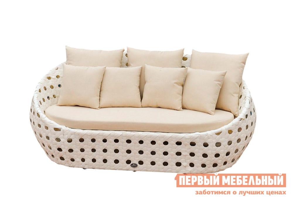 Плетеный диван для дачи Kvimol KM0015
