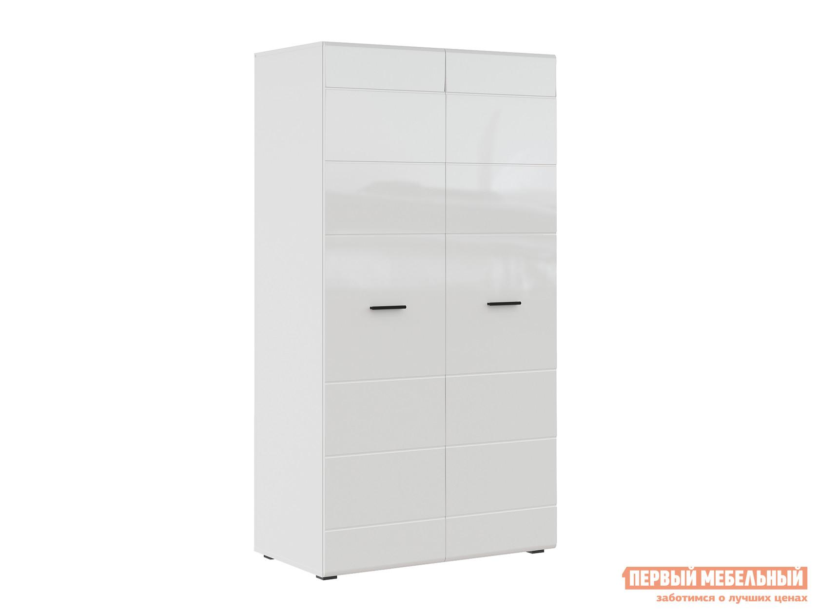 Фото - Распашной шкаф Первый Мебельный GLOSS шкаф 2-х дверный 71373114 распашной шкаф первый мебельный шкаф 3 х дверный глухой венето