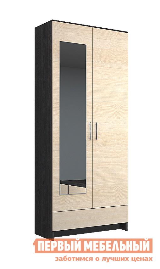 Шкаф распашной НК-Мебель Паулина 6 шкаф витрина нк мебель верди в