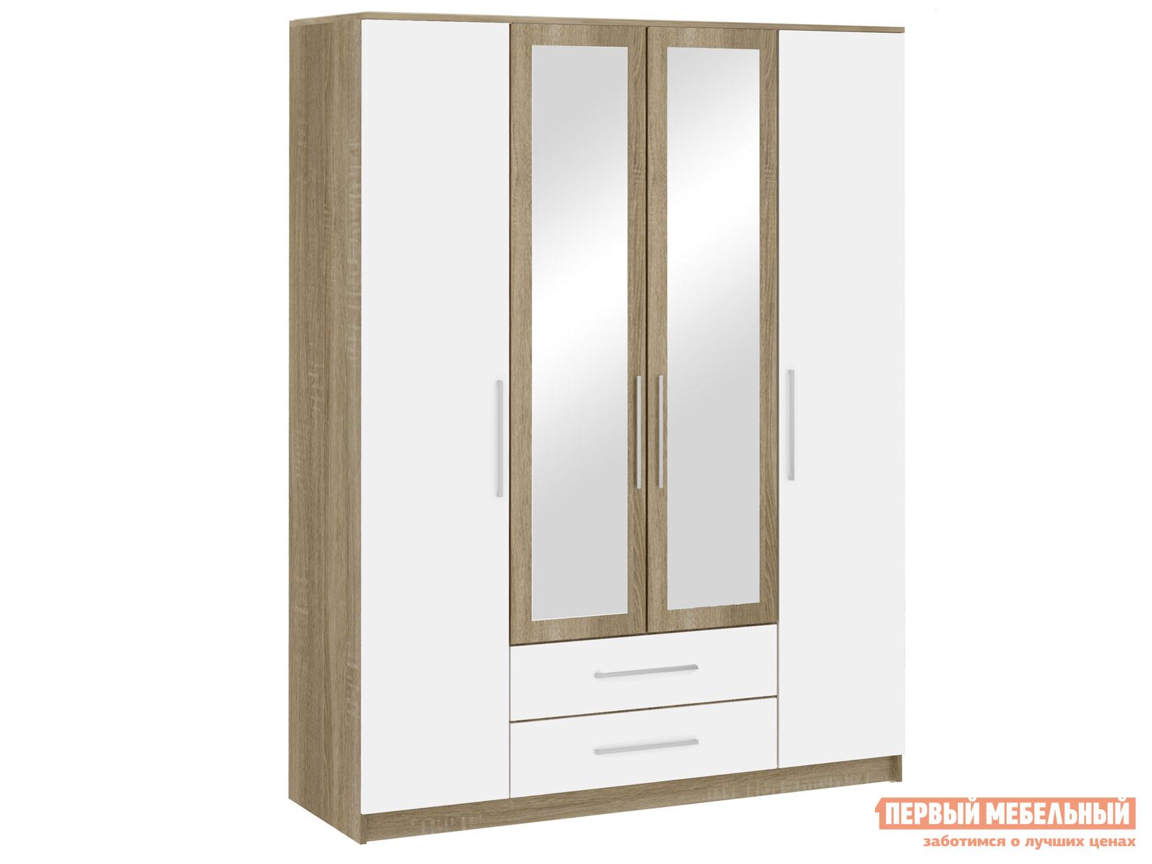 Шкаф распашной НК-Мебель Бланка шкаф 4-х дверный 72250076 шкаф распашной нк мебель прага шкаф 4 х дверный 72030103