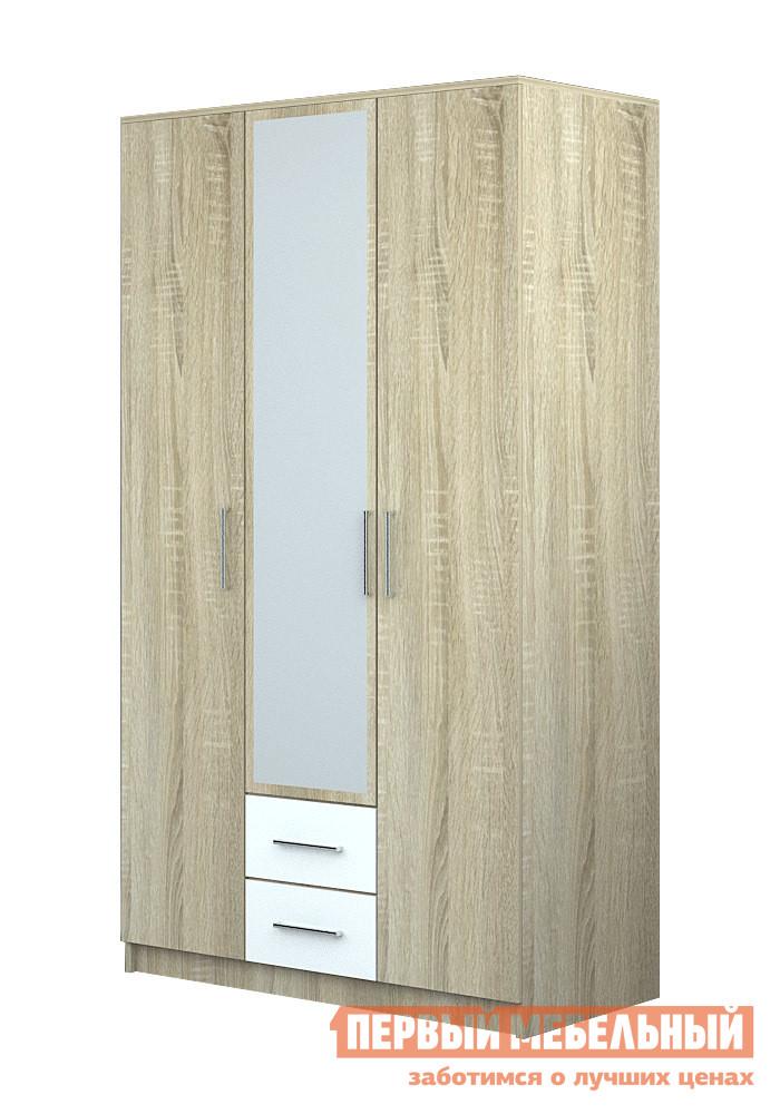Шкаф распашной НК-Мебель Ломбардо Ш-3 шкаф распашной нк мебель ломбардо ш 4