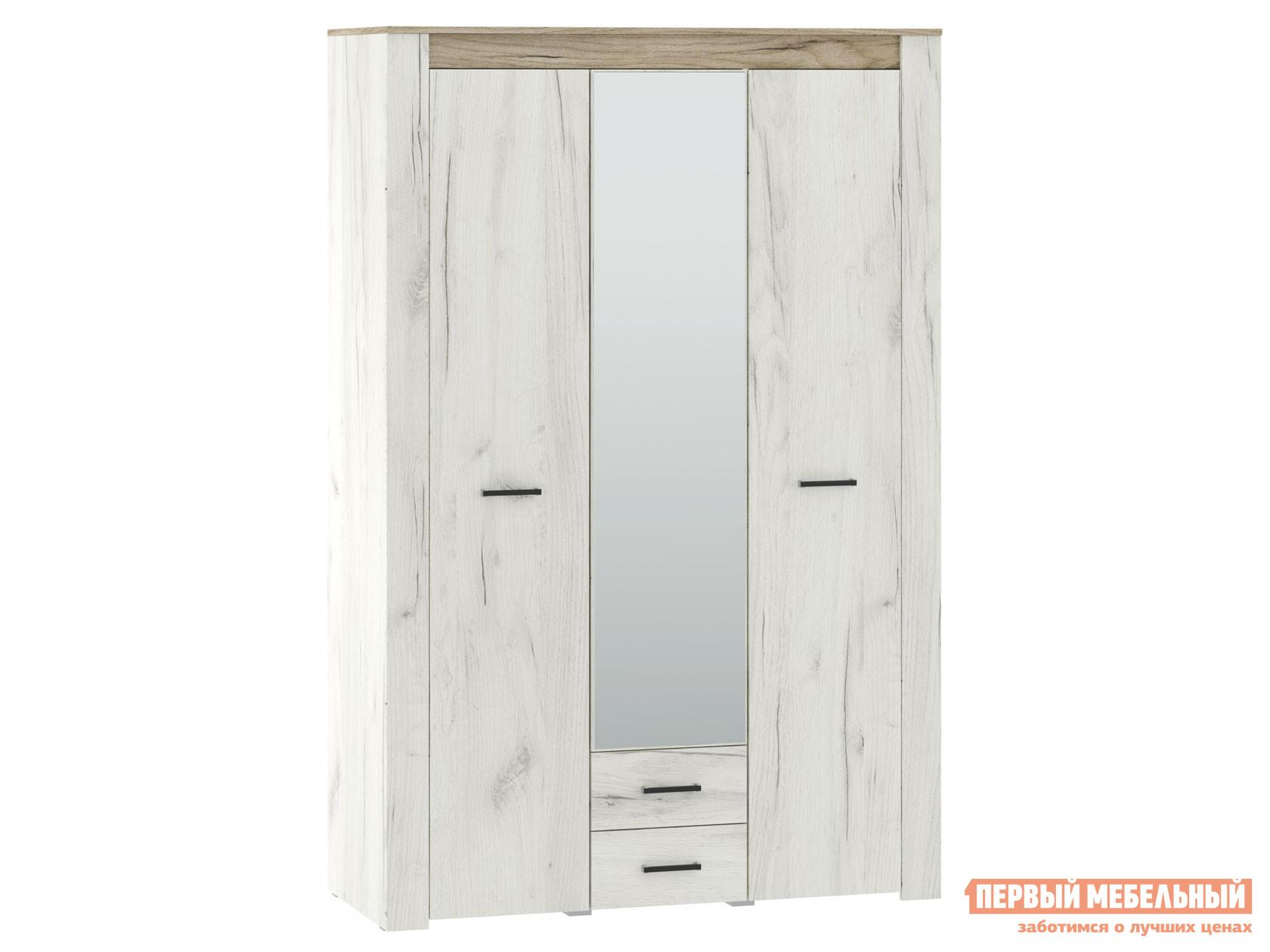 Шкаф распашной НК-Мебель ПРАГА шкаф 3-х дверный 72030102 шкаф распашной нк мебель прага шкаф 4 х дверный 72030103