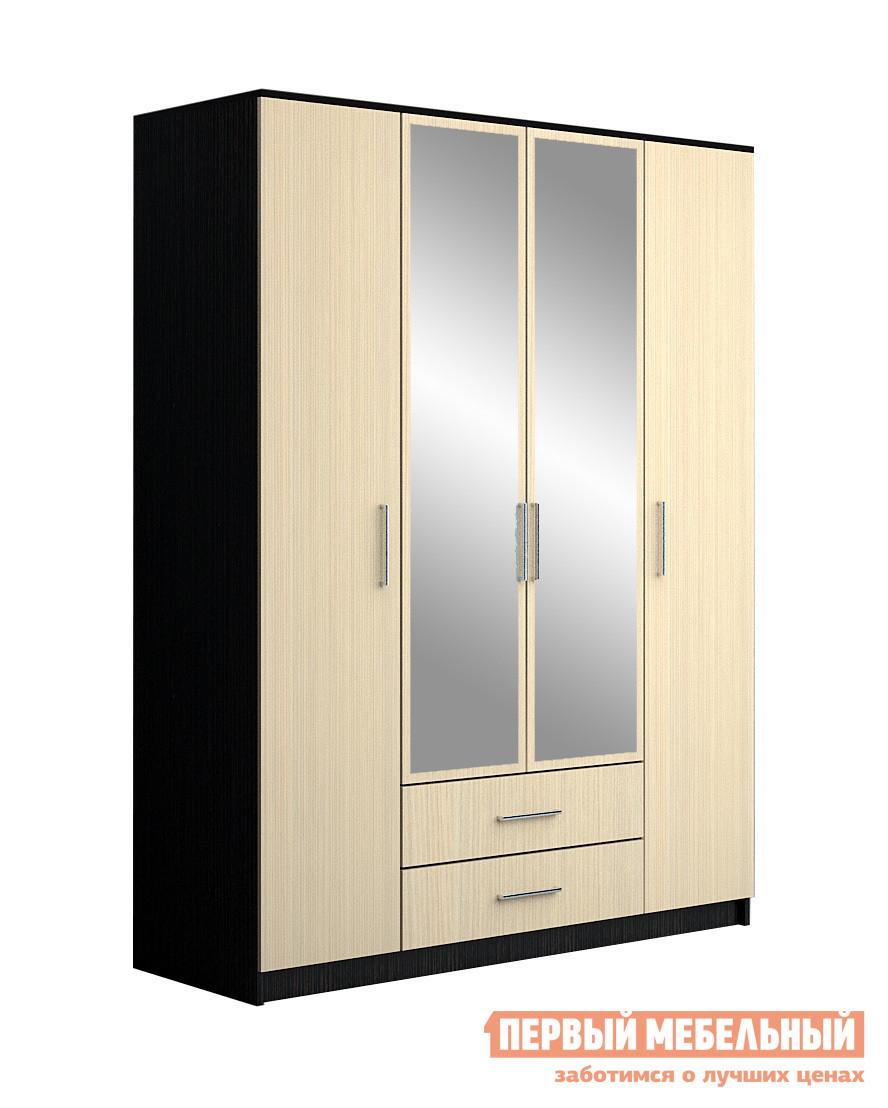 Шкаф распашной НК-Мебель Паулина 8 шкаф витрина нк мебель верди в