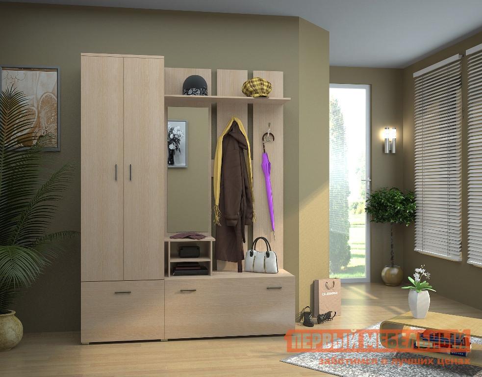 Прихожая в коридор НК-Мебель Сальмиро К шкаф распашной нк мебель сальмиро 2
