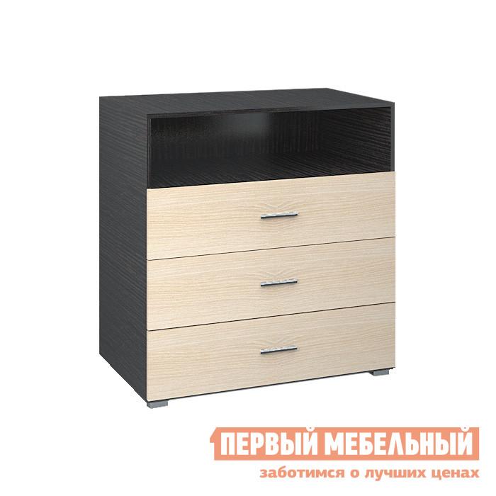 Комод НКМ Паулина 4 Венге / Дуб Кремона