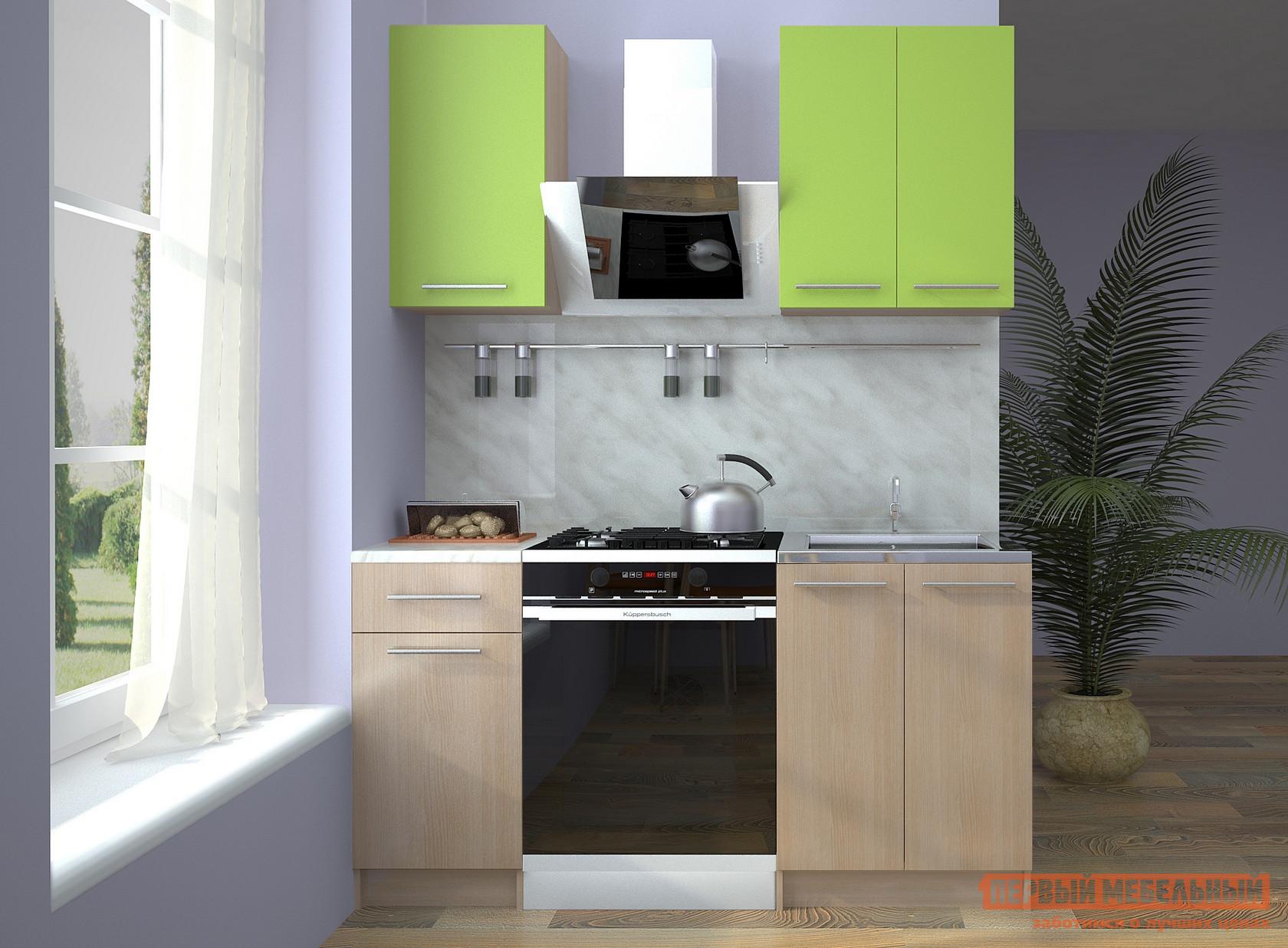 Кухонный гарнитур НК-Мебель Далари 160 см спальный гарнитур нк мебель паулина к1