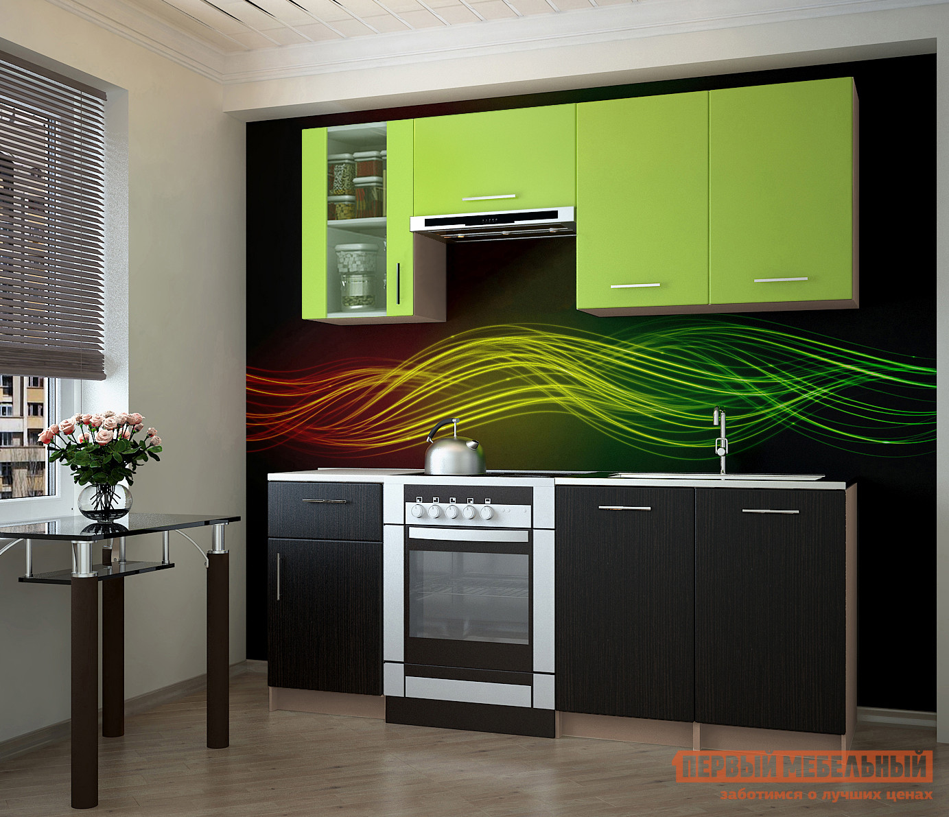 Кухонный гарнитур НК-Мебель Тарнета 180 см