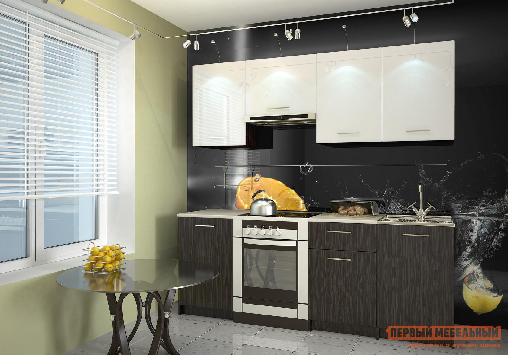 Кухонный гарнитур НК-Мебель Дальма 210 см кухонный гарнитур трия ассорти вишня 2 240 х 210 см