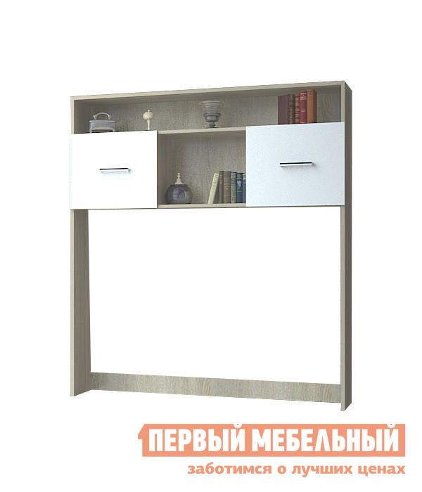 Надстройка НК-Мебель Верди Нст шкаф витрина нк мебель верди в