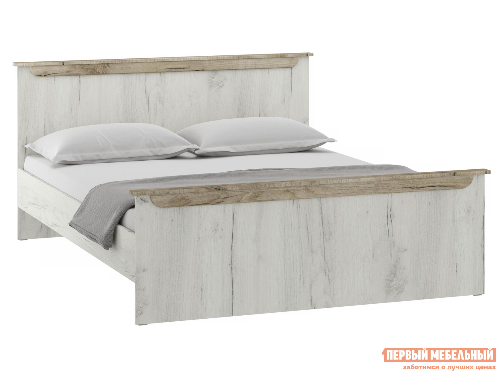 Двуспальная кровать НК-Мебель ПРАГА кровать 1600х2000 72030094